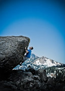 Rock Climbing Photo: Me at a roadside stop in Lassen Volcanic National ...