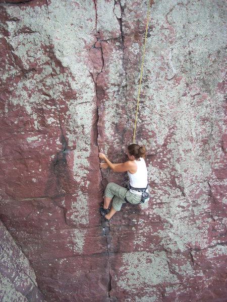 Rock Climbing Photo: Melissa.