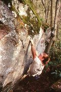 Rock Climbing Photo: Not a great photo, but it gives you an idea what t...