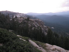Rock Climbing Photo: The top of Shangri La from the High Eagle Dome app...