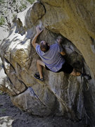 Rock Climbing Photo: Dihedral Problem at Three Sisters, CO