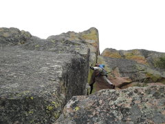 Rock Climbing Photo: The first corner after leaving the Finger Licken G...
