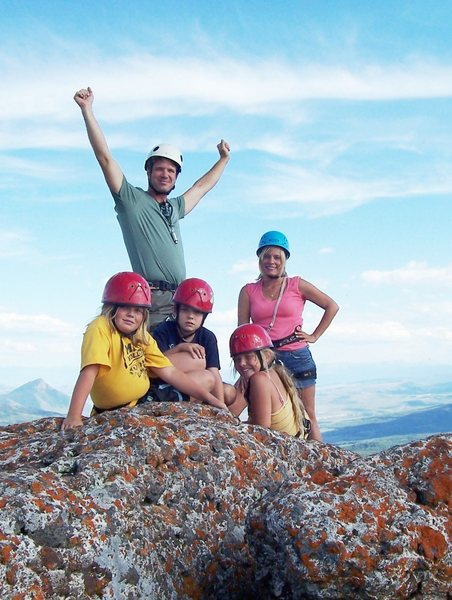 Rock Climbing Photo: Good for the whole family.