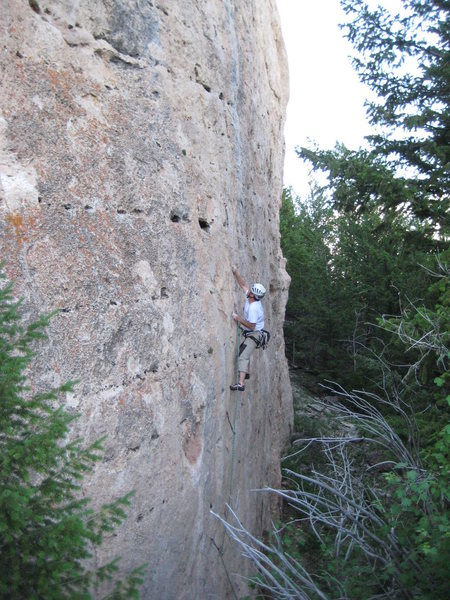 Rock Climbing Photo: DI on the CPVTC