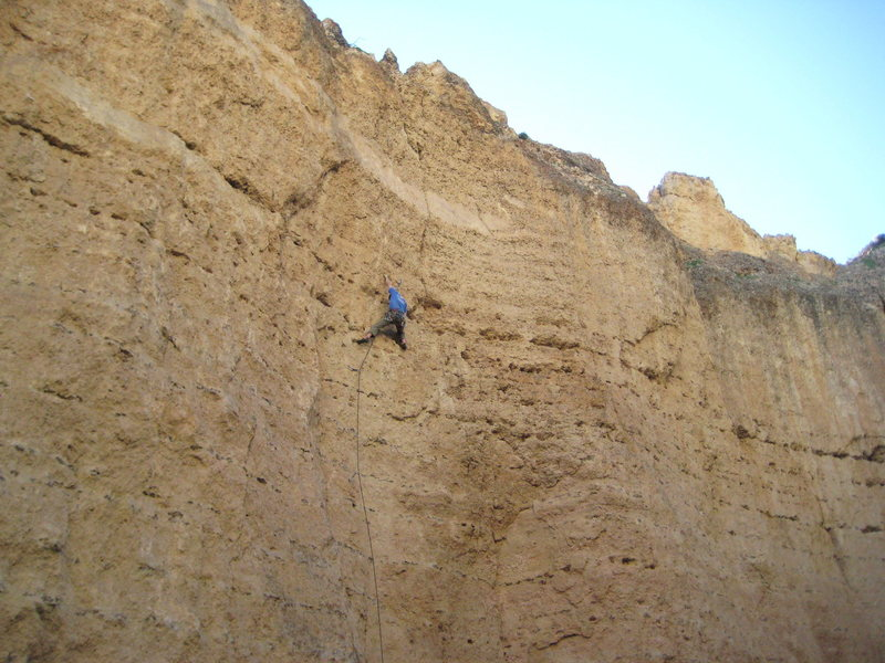 An early ascent of Shaared. Photo:Brian W.