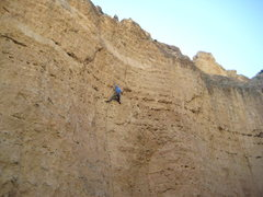 Rock Climbing Photo: An early ascent of Shaared. Photo:Brian W.