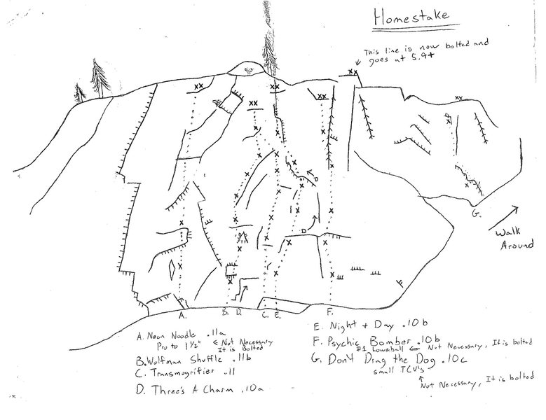 Early Homestake Climbing Guide, paper.