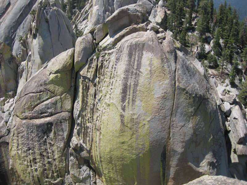 Rock Climbing Photo: Witch - Upper East Face