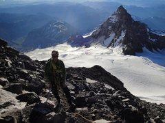 Rock Climbing Photo: Rainier, 7/25/10