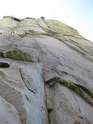 Rock Climbing Photo: The Entity - First Pitch