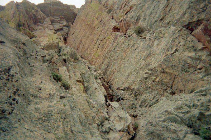 Rock Climbing Photo: p.3 photo by B.B.