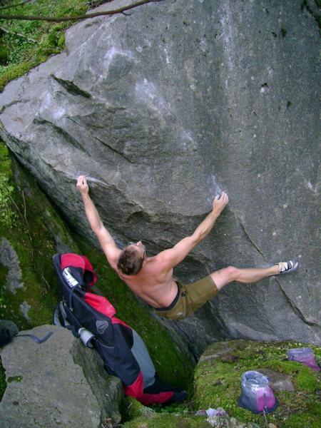 Rock Climbing Photo: Nate