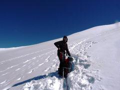 Rock Climbing Photo: High on the Interglacier