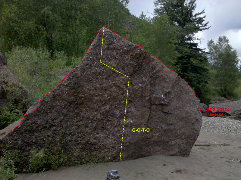 Rock Climbing Photo: Face and landing.