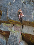 Rock Climbing Photo: Sweet hands and fingers over a couple of roofs 10a...