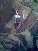 Rock Climbing Photo: boulder in CT