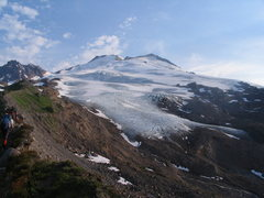 Rock Climbing Photo: Eastman Glacier, MT Baker