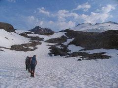 Rock Climbing Photo: snow training