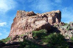 "Rock Climbing Photo: ""Back of the Rabbit""."