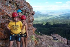 Rock Climbing Photo: 3rd class belay ledge.