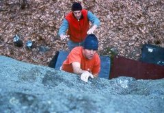 Rock Climbing Photo: Yosemite Highball.