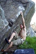Rock Climbing Photo: Malnu bouldering at the Quarries.