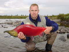 Rock Climbing Photo: Sockeye in Alaska