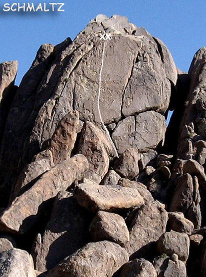 "Rock Climbing Photo: ""Schmaltz"". Photo by Blitzo."