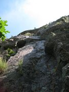 Rock Climbing Photo: Packrat Dihedral