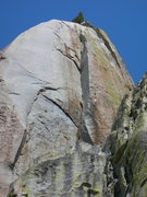 Rock Climbing Photo: Wailing Banshees is the - Dihedral