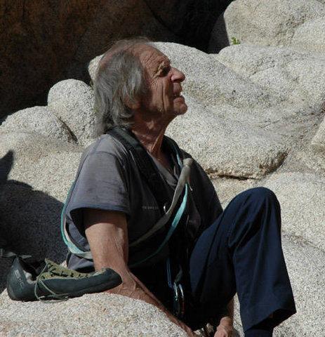 Rock Climbing Photo: Fred Beckey.