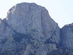Rock Climbing Photo: table main buttress