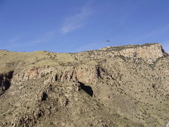 Rock Climbing Photo: this is the pima canyon side