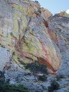 Rock Climbing Photo: modern day warrior follows the S crack