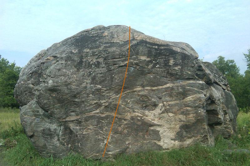 Rock Climbing Photo: General line