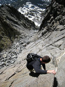 Rock Climbing Photo: Jascha spicing up the climbing