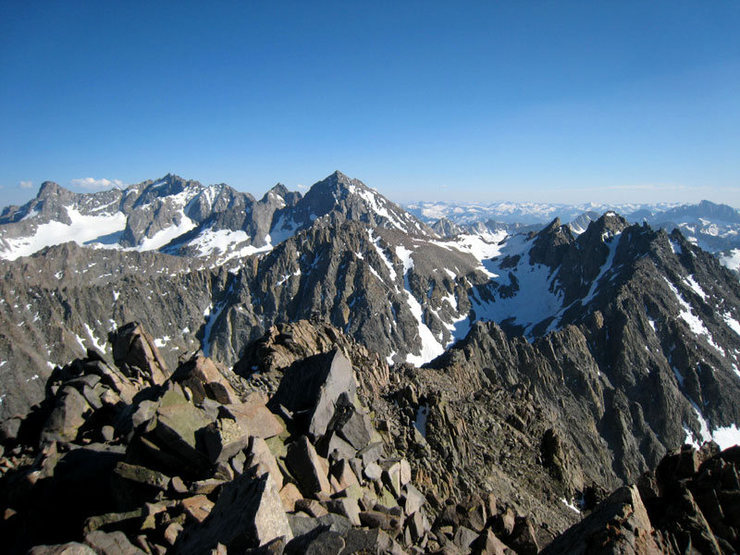 Rock Climbing Photo: summit views