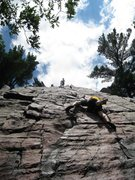 Rock Climbing Photo: The best damn butt shot you'll ever see of this ro...