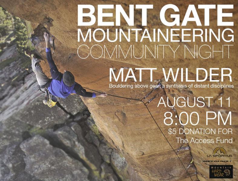 Rock Climbing Photo: Matt Wilder.