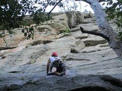 Rock Climbing Photo: looking ahead