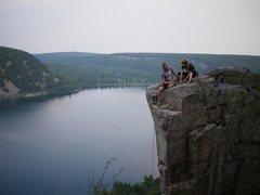 Rock Climbing Photo: The newlyweds, July 2010.