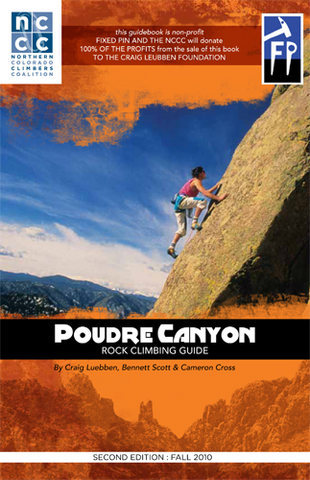 Rock Climbing Photo: Poudre Canyon Rock Climbing guidebook.