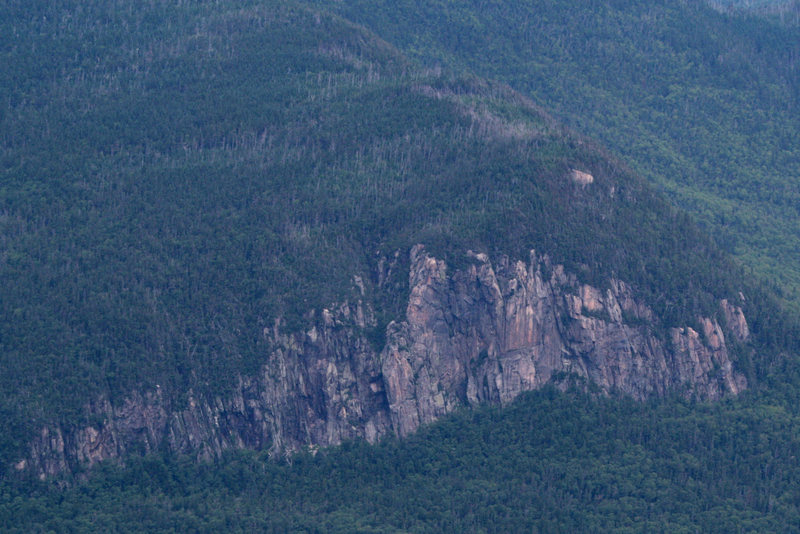 anyone know anything about this cliff... i think its on the south side of Mount Garfield... this is the view from Mount Lincoln...