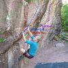 Climber: Megan Cerise.