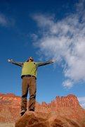 Rock Climbing Photo: Ahhh, sun