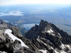 Rock Climbing Photo: View from the summit looking back northeast toward...