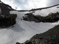 Rock Climbing Photo: Headwall dividing the Moraine campground from the ...