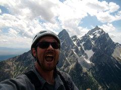 Rock Climbing Photo: I look like I am ready for a dental exam.  Alan Re...