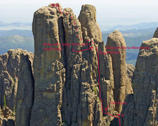 Rock Climbing Photo: The Great Northwest Dihedral