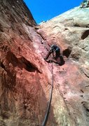 Rock Climbing Photo: My favorite part...